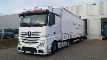 Transport - Ciągnik siodłowy MERCEDES ACTROS euro 6